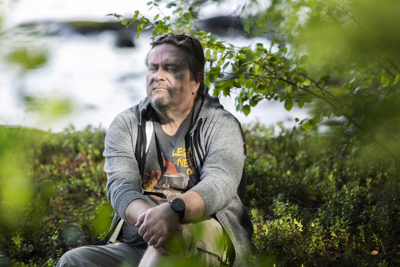 Juha Koivusen rauha löytyy mökiltä.