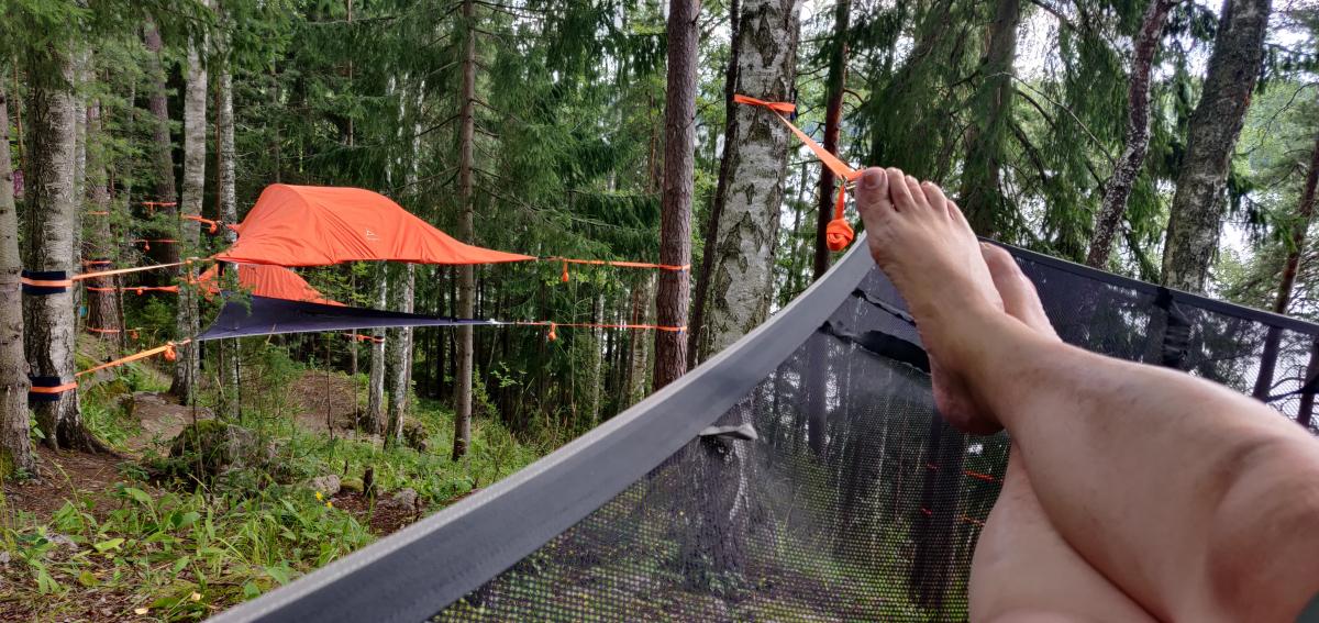 Pariskunta Loma Suomessa