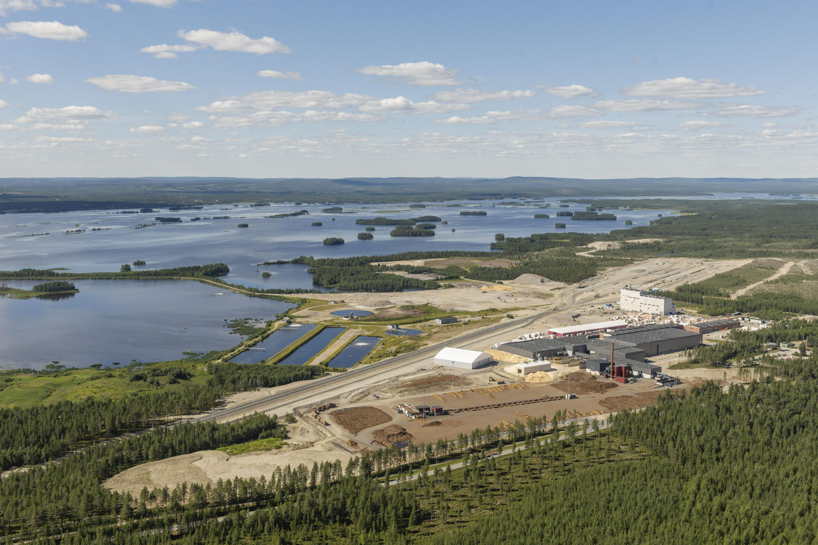 Biojalostamoa suunnitellaan samalle alueelle, jossa aiemmin toimi Stora Enson sellutehdas.